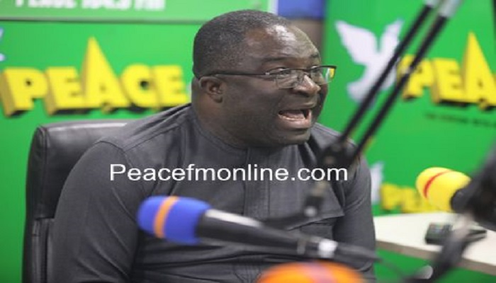 Member of Parliament for the Subin Constituency , Eugene Boakye Antwi