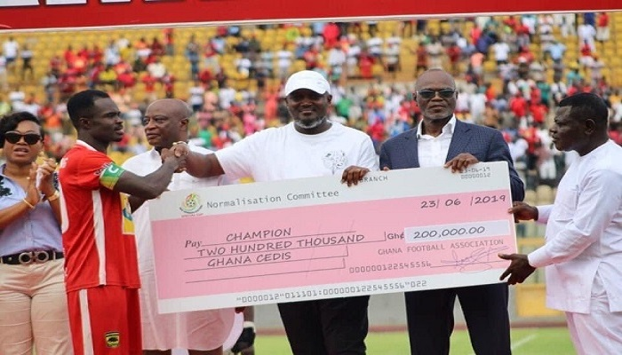 Kotoko earns GHc200,000 in NC Special Competition prize money