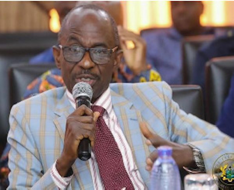 NDC General Secretary, Johnson Asiedu Nketia