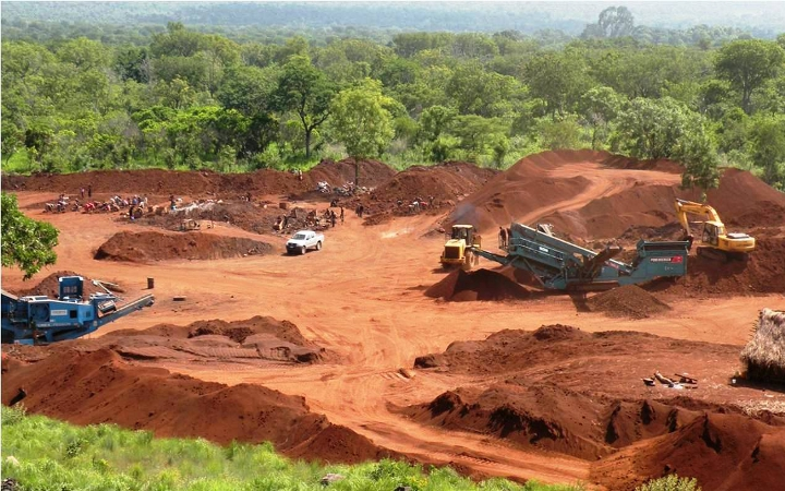 File Photo: A mining site
