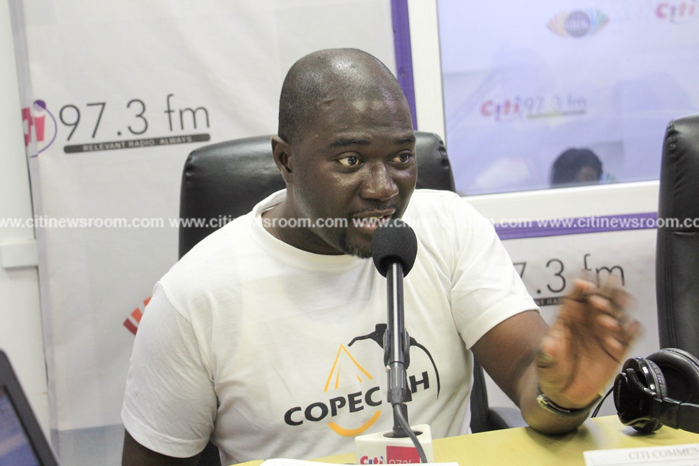 Duncan Amoah, Executive Director of COPEC