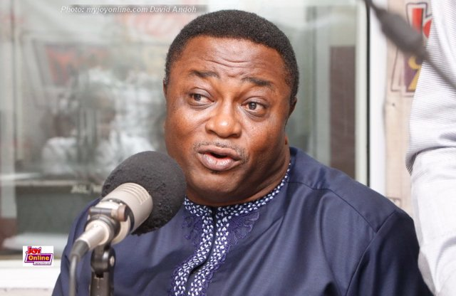 Elvis Afriyie Ankrah, NDC Director of Election