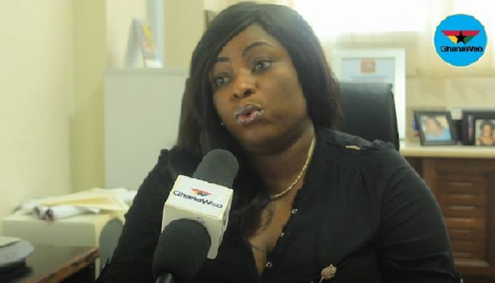Kate Addo, Director of Public Affairs of Parliament