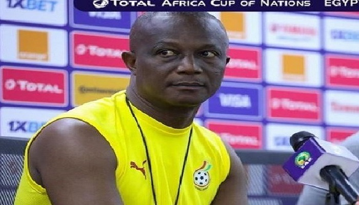 Black Stars head coach Kwesi Appiah