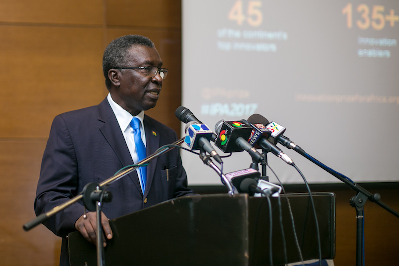 Prof. Kwabena Frimpong Boateng, Minister for Env't, Science, Technology and Innovation