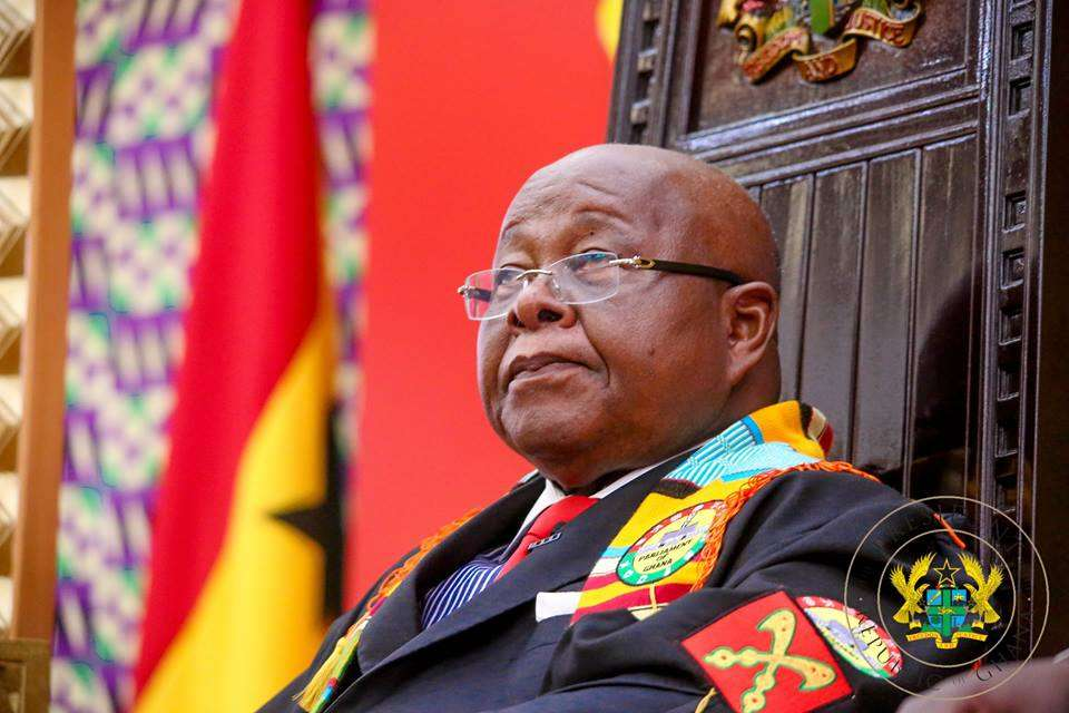Speaker of Parliament, Professor Aaron Mike Oquaye