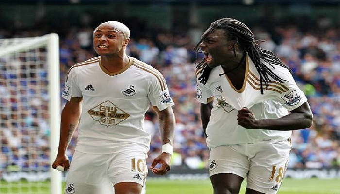 Andre Ayew could start against Northampton Town