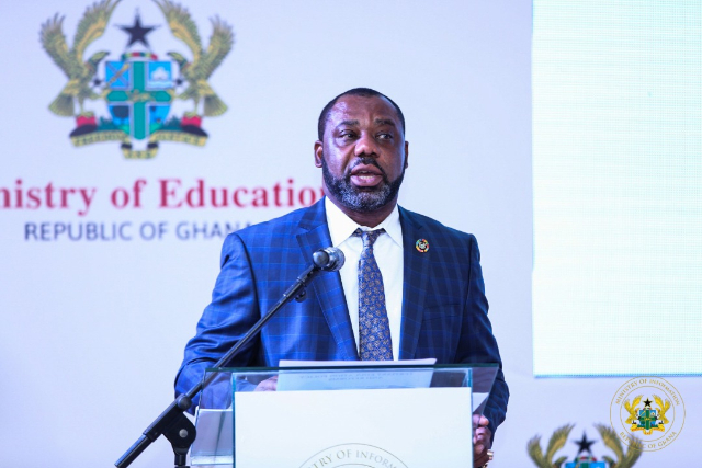 Education Minister, Mathew Opoku Prempeh