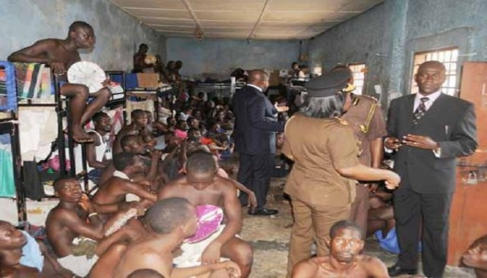 File Photo: A depiction of an overcrowded prison