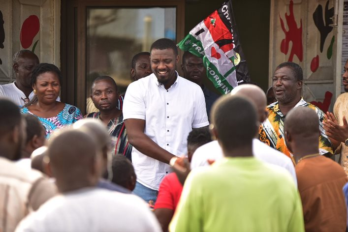 John Dumelo is contesting for the Ayawaso West Wuogon seat in Parliament