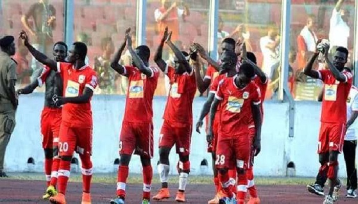 At that time Okwawu were leading 1-0 against Asante Kotoko