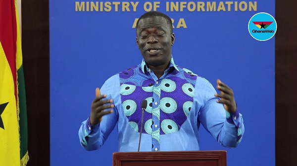 Minister for Employment, Labour Relations - Ignatius Baffour Awuah