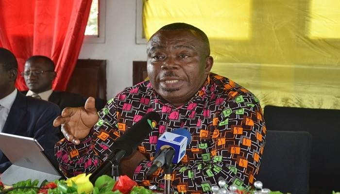 Director-General of State Interests and Governance Authority (SIGA), Stephen Asamoah Boateng