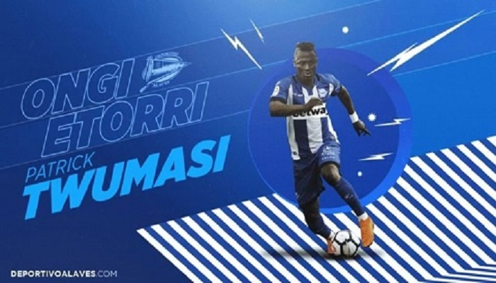 Twumasi is ready to leave Alaves after just one year