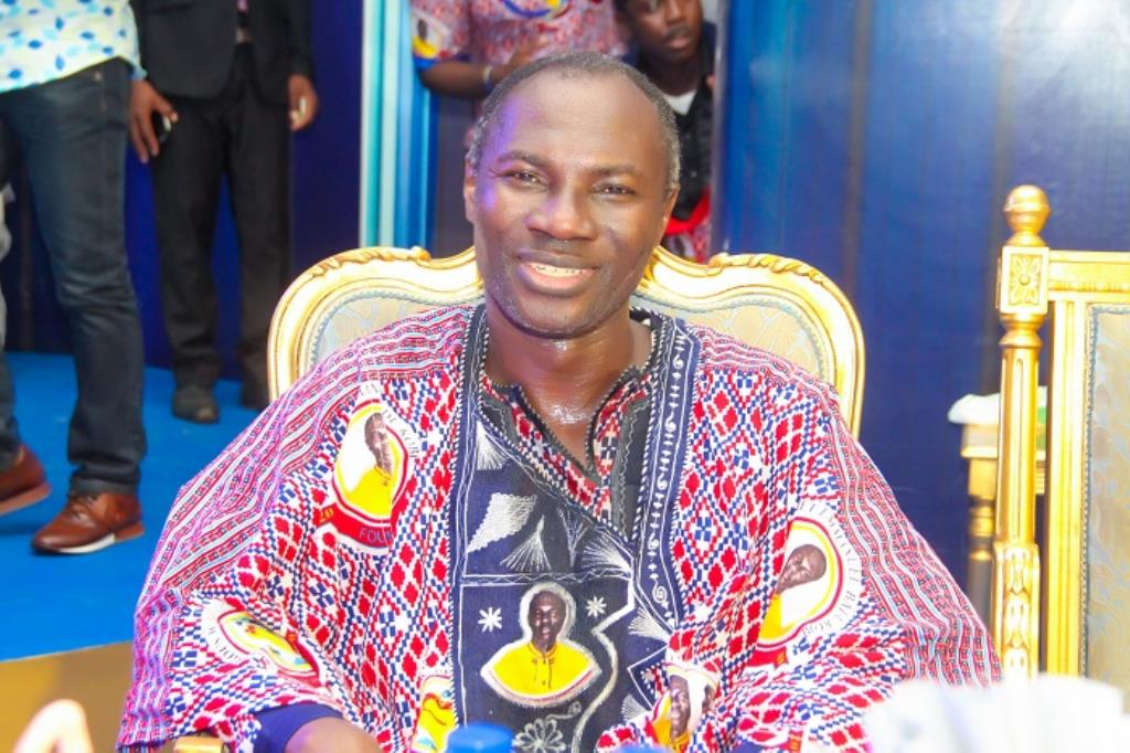 Prophet Badu Kobi, Founder of Glorious Ways International