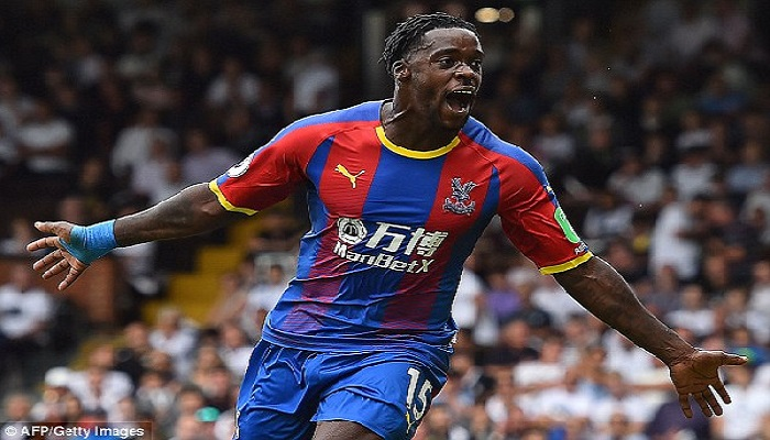 Crystal Palace midfielder Jeffery Schlupp