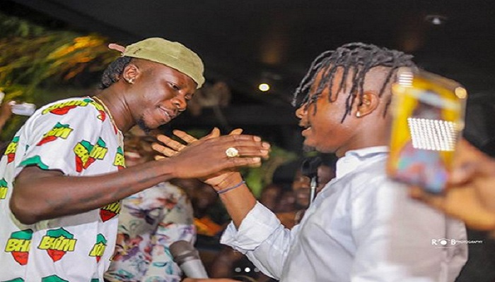 Stonebwoy and Kelvyn Boy