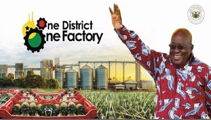 President Akufo-Addo during his media encounter on Friday announced that 58 factories under the initiative have so far been completed