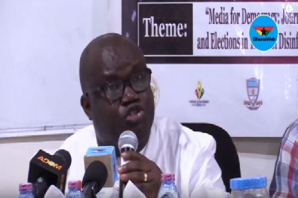 Chief Executive Officer of the Ghana Chamber of Telecommunications, Kenneth Ashigbey