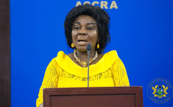 Minister of Sanitation and Water Resources, Cecilia Abena Dapaah