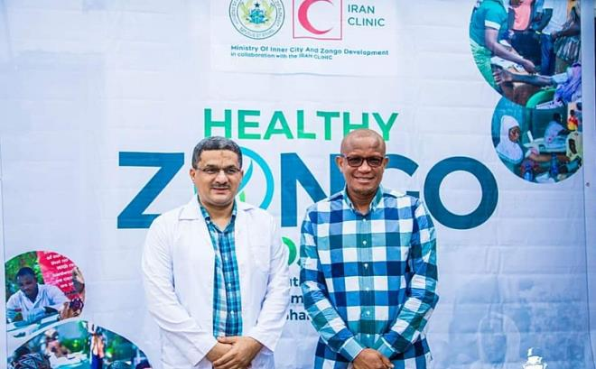 Dr. Mustapha Hamid noted the exercise will be replicated across all Zongo communities