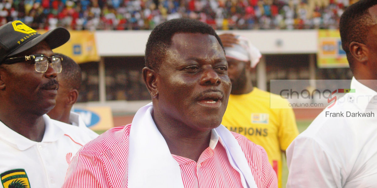 Executive Chairman of Asante Kotoko,Dr Kwame Kyei
