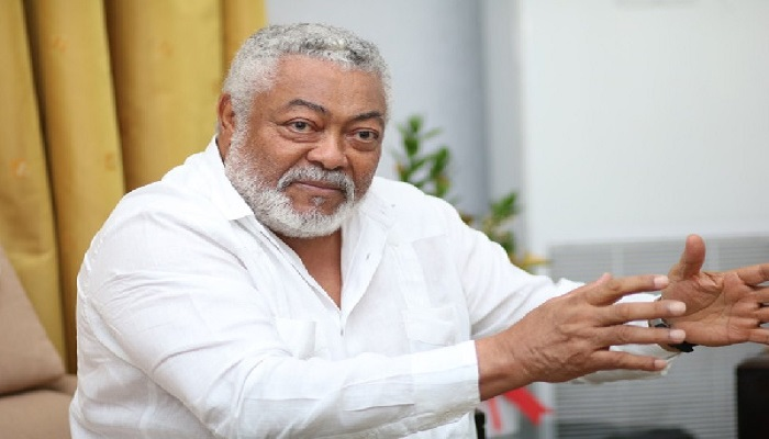 Rawlings reacts to Otumfuo's comment
