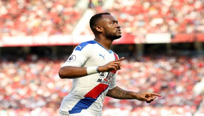 Crystal Palace forward Jordan Ayew