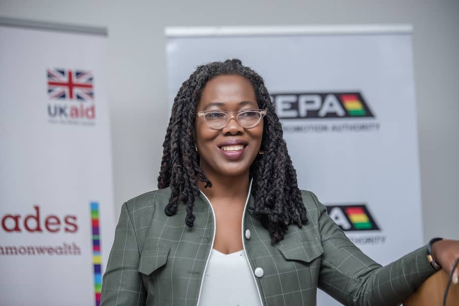 Chief Executive officer (CEO) of the Ghana Export Promotion Authority (GEPA), Ms Afua Asabea Asare