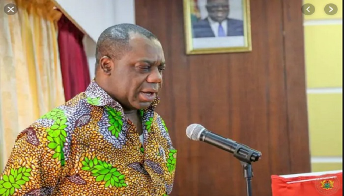 Education Minister, Dr. Matthew Opoku Prempeh