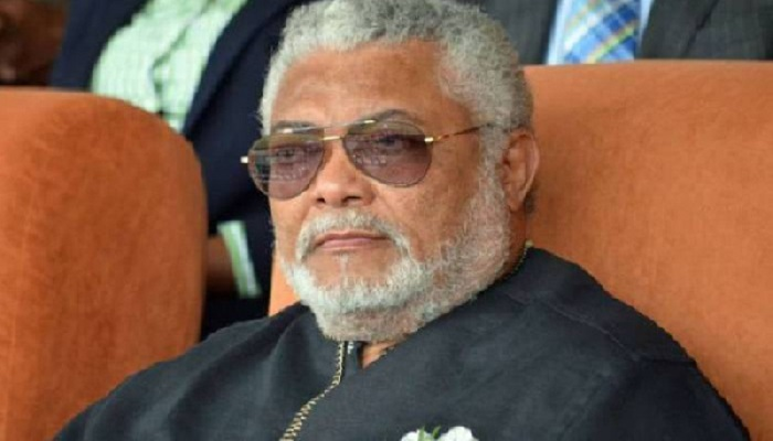 Rawlings calls for cool heads over Otumfuo, Mahama 'tiff'