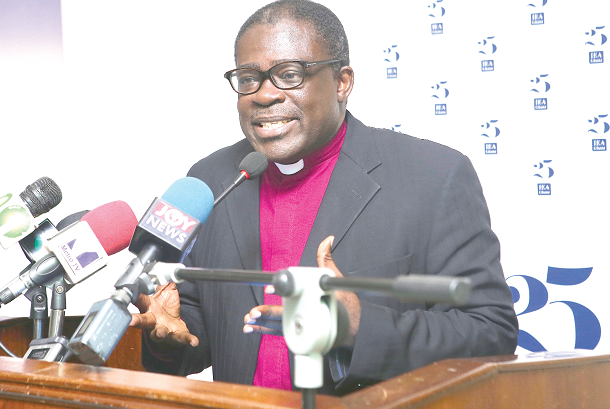 Former General Secretary of the Christian Council of Ghana, Rev. Dr Kwabena Opuni-Frimpong