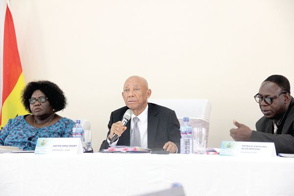 The Emile Short Commission oversaw investigations into the issues regarding the AWW violence