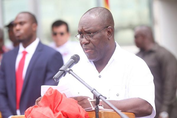 Secretary General of the Trades Union Congress, Dr Anthony Yaw Baah