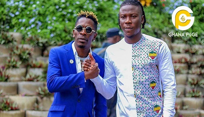 Shatta Wale and Stonebwoy made peace after the VGMA scuffle