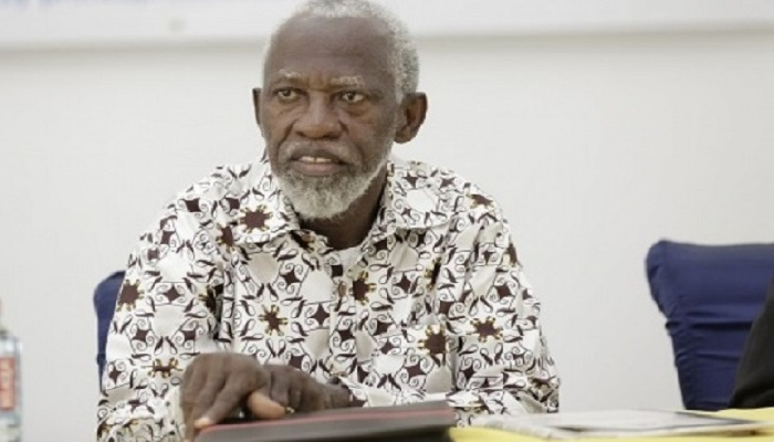 Prof Stephen Adei,board chair of the Ghana Revenue Authority