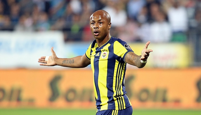 Swansea City vice-captain Andre Ayew