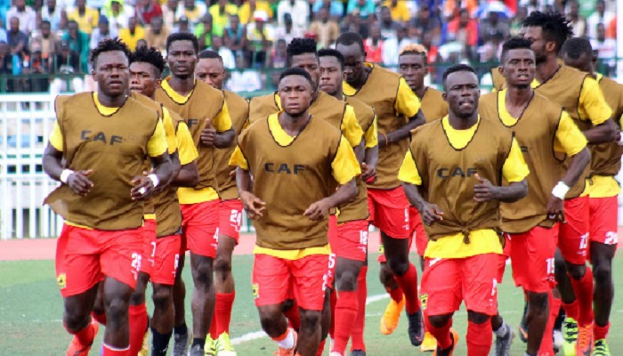 The Kotoko coach is confident of his team qualifying to the next round of the CAF competition