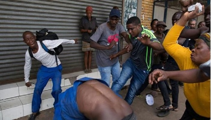 Foreign workers in South Africa were targeted in the attacks