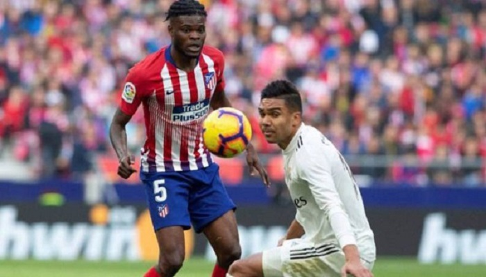 Partey wants to end his career at Atletico