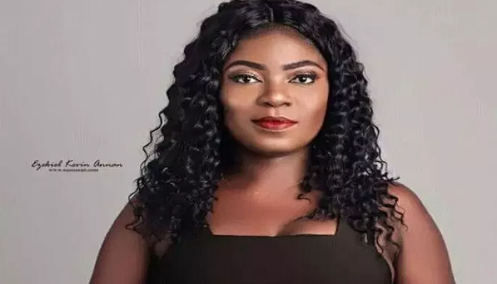 Afia Pokua aka Vim Lady has joined UTV