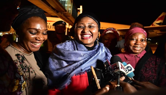 First Lady Aisha Buhari speaks to BBC Hausa