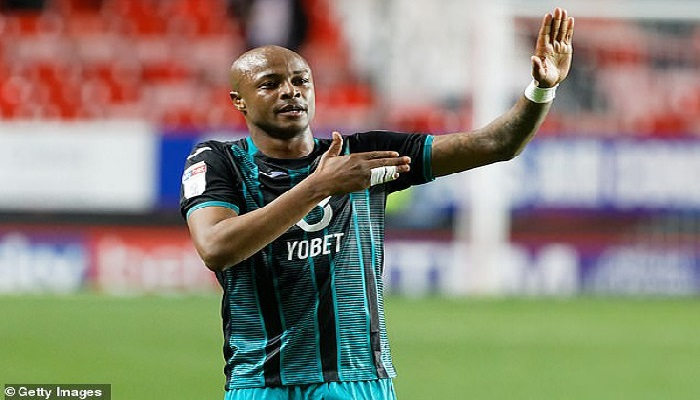 Swansea City star Andre Ayew