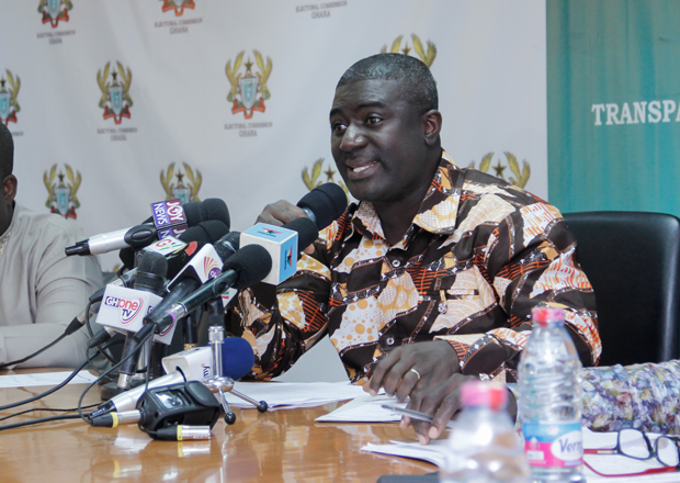 Deputy Chairperson of the EC, Dr Bossman Asare