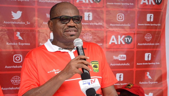 George Amoako, the Chief Executive Officer of Asante Kotoko