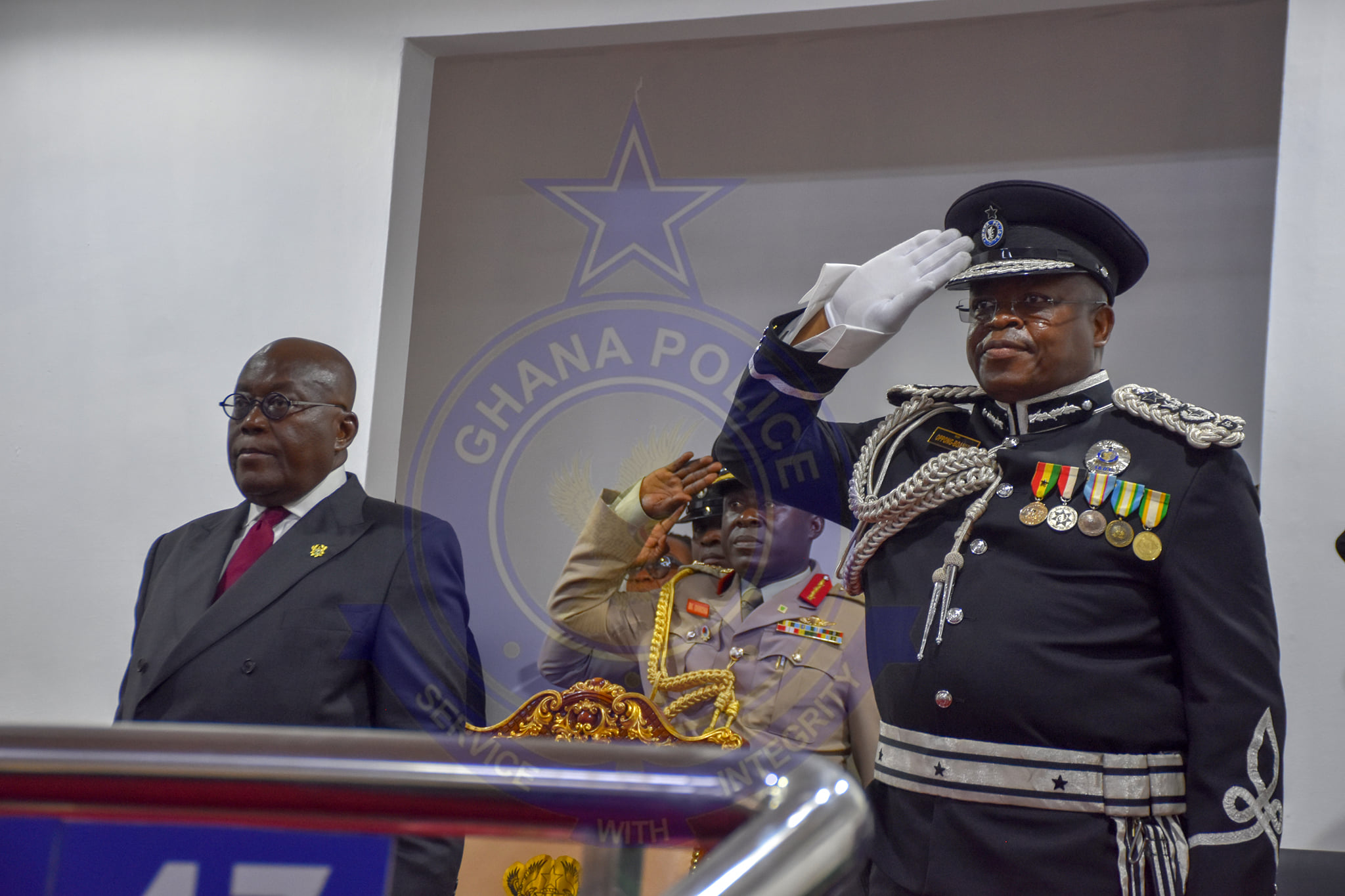 Inspector-General of Police (IGP) James Oppong-Boanuh