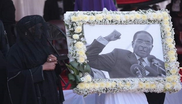 Robert Mugabe's burial caused tension between the government and his family