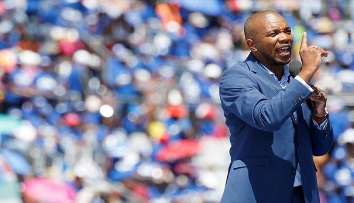 Leader of South African opposition party, the Democratic Alliance (DA) Mmusi Maimane