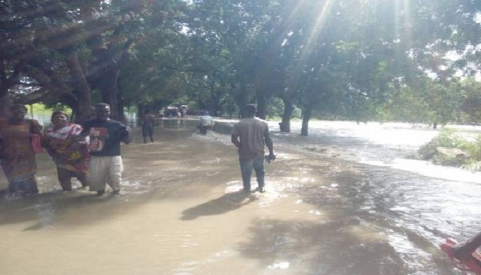 Flood in the region has killed at least 28 people leaving homes destroyed and people displaced