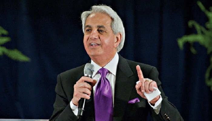 Pastor Benny Hinn will lead the service on Friday, Saturday and Sunday.